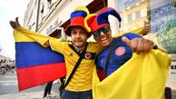 حاشیه و تصاویر بازی ژاپن و کلمبیا